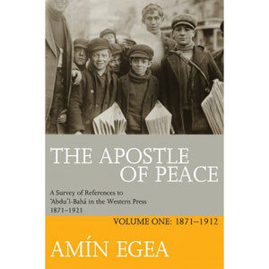 The Apostle Of Peace Vol 1