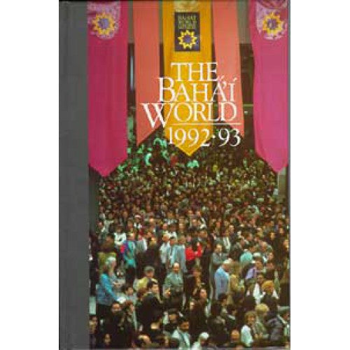 The Baha'i World 1992-1993