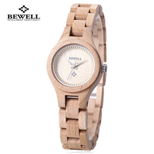 Handcrafted Water Resistance Wood Watch