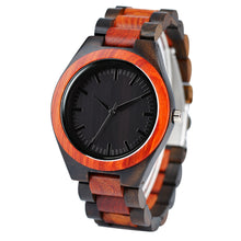 Load image into Gallery viewer, Handcrafted Men's Bamboo Sports Quartz Men Watch With Wood Bracelet