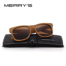Load image into Gallery viewer, DESIGN Wood Sunglasses Retro Polarized HAND MADE 100% UV Protection S'5140