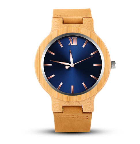 Luxury Handcrafted Wood Fashion Watch