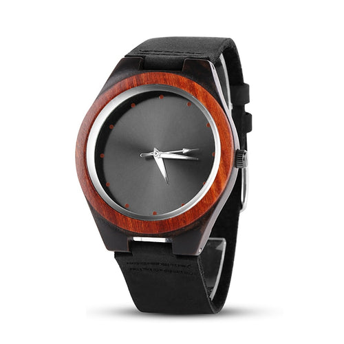 Handcrafted Wood Quartz Fashion Watch