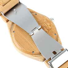Load image into Gallery viewer, Unique Handcrafted Wood Quartz Watch