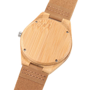 Your First Handcrafted Wood Watch AT A SPECIAL PRICE!