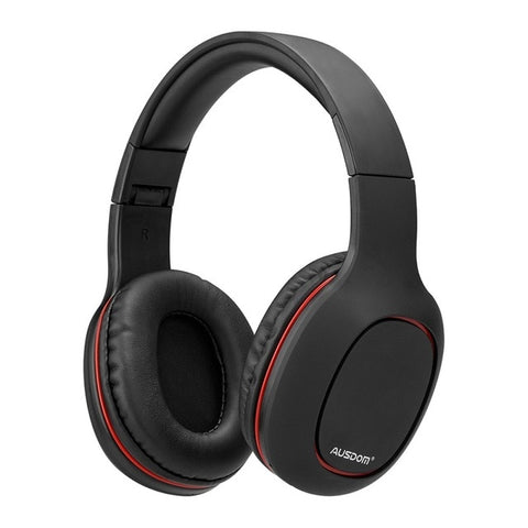 M09 Bluetooth Headphone Over-Ear Wired Wireless Headphones