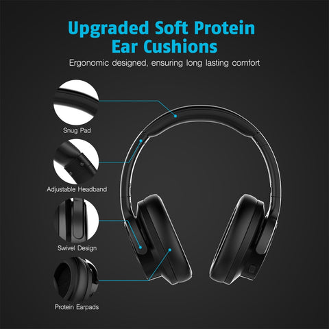 E9 Active Noise Cancelling Wireless Bluetooth Headphones