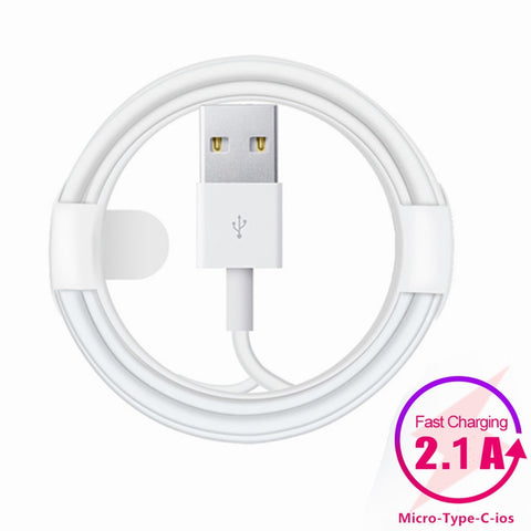 Fast Charging Data Mobile Phone Cables