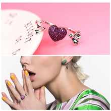 Load image into Gallery viewer, Karosi Jewels signature ring - Hot Pink - Adjustable