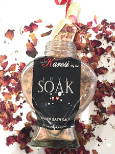 Love Soak - Bath Salts 160g