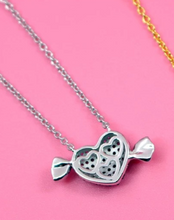 Load image into Gallery viewer, Karois Heart 925 sterling silver pendant.
