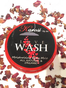 Love wash - Moisturising body melt 140 g
