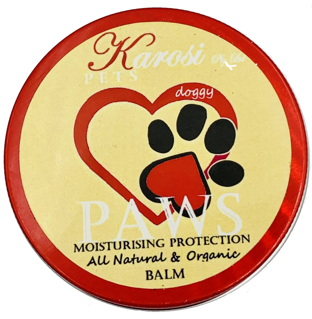 Doggy Paws - Moisturising and protective balm for dog paws and noses.