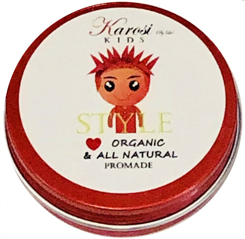 Kids hair Styling Paste- all natural & organic