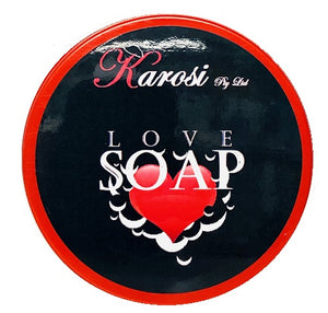 Love soap 5  pieces  -  heart shape (goats  milk)