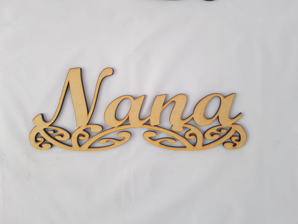Custom Personalised Name Sign Art - TroubleMaker.co.nz
