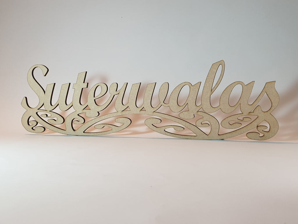 Custom Sign Art, personalized for you - TroubleMaker.co.nz