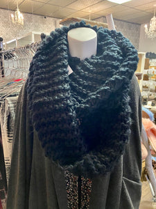 Assorted Knit Infinity Scarf  slb-1