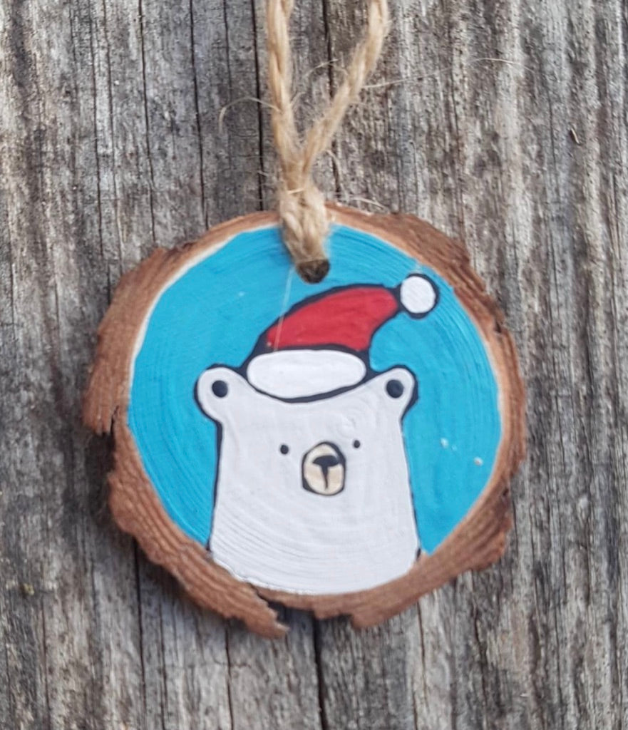 Westcoastkitsch Polar Bear with Hat WCK-6