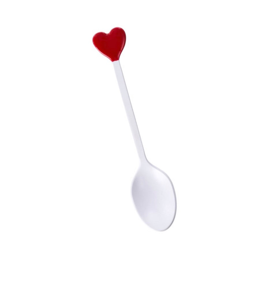 Red Queen Of Hearts Spoon 4-9270