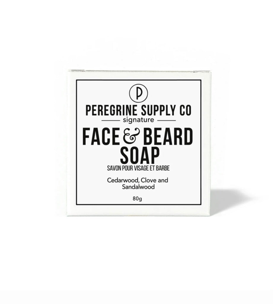 Peregrine Supply Co. Face and Beard Soap ps-6