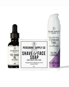 Peregrine Supply Co. Shave Box  ps-4