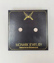 Load image into Gallery viewer, Monark Jewelry Moonstone Stud Earrings MJ-28GSE