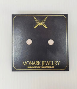 Monark Jewelry Moonstone Stud Earrings MJ-28GSE