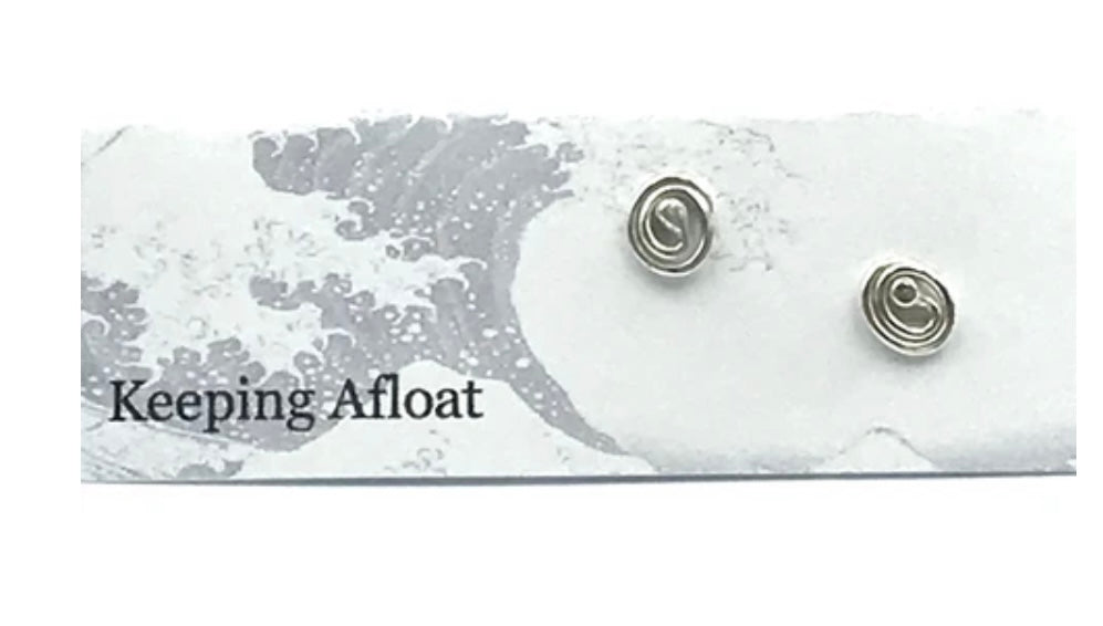 Keeping Afloat Rain Ripple Earring Ra02