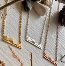 Load image into Gallery viewer, Arrowsmith Mountain Range Necklace     pk-8
