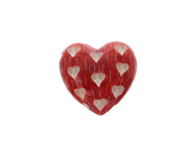 Amore heart soapstone 7-9678