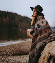 "Load image into Gallery viewer, ""The Rustic"" Modest Maverick Assorted Tofino Blanket  mmt-1"