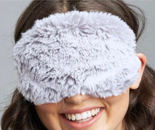 Load image into Gallery viewer, Lemon Loungewear Grey Fur Sleep Mask CW-1020