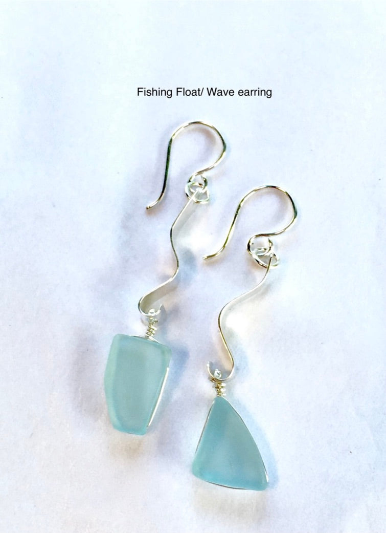 Keeping Afloat Wave Earring FFWVe