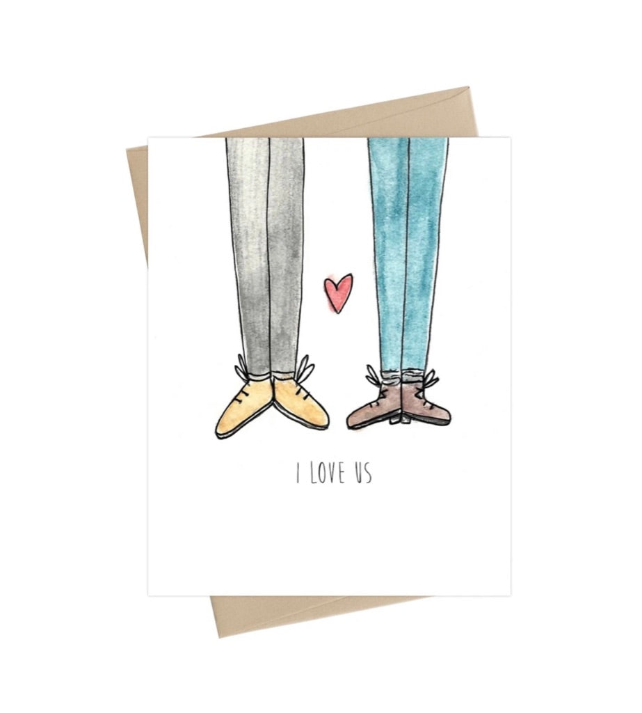 I Love Us -  Little May Papery Greeting Cards LMP-01