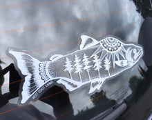 Load image into Gallery viewer, West Coast Karma Salmon  Car Decal WCK-4