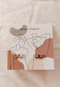 Mimi & August Boobs Stud Earrings