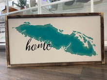 "Load image into Gallery viewer, Vancouver Island ""Home"" Sign WTG-70"