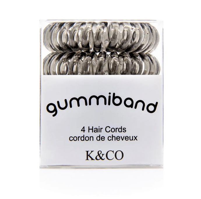 GummiBand Gray Hair Ties