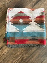 "Load image into Gallery viewer, ""The Traveller""  Modest Maverick Tofino Blanket  mmt-1a"