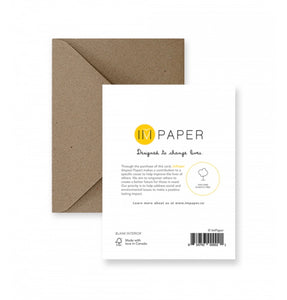 Thank You  IM Paper cards IMP-1-4
