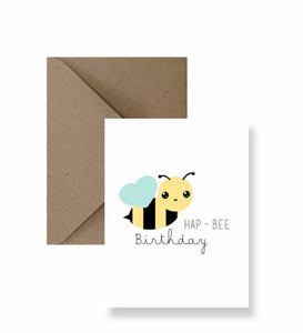 Hap-Bee Birthday IM Paper cards IMP-1-2