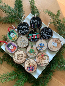 Ugly Christmas Sweater Ornaments - Honeybeez  hb-2