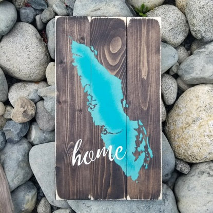 Whithin The Grain Vancouver Island Home Sign WTG-45