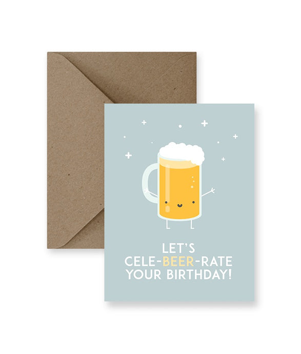 Let's Cele-Beer-Rate Birthday IM Paper cards IMP-1-2
