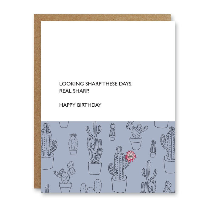 Looking Sharp Birthday Card  Boo To You Cards BTY1-1