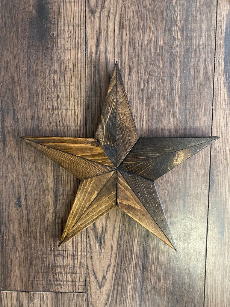 Small Solid Hanging Star PP-5