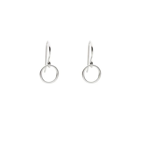 Monark Jewellery Little Silver Circle Earrings MJ24-SSE