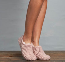 Load image into Gallery viewer, Lemon Loungewear Nona's Booties With Berber Lining L-2214B