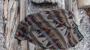 """The Rustic"" Modest Maverick Assorted Tofino Blanket  mmt-1"